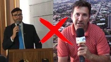 Advogado Marcelo Vrenna processa o radialista Clésio Gonçalves por conta de Fake News
