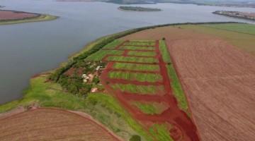 Vista aérea do Residencial Farol do Paranapanema II, em Alvorada do Sul